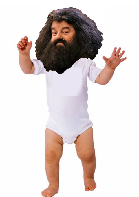 That time I accidentally called a woman's baby 'Hagrid'