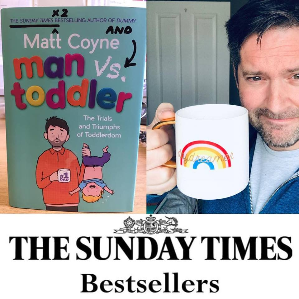 Man vs Toddler – Sunday Times Bestseller!
