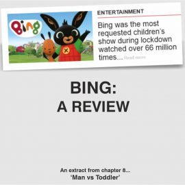 BING BUNNY, A REVIEW (*SPOILER* HE'S A WHINY LITTLE ****).