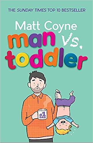 Man vs Toddler book cover by Matt Coyne