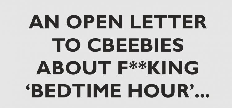 An open letter to CBeebies