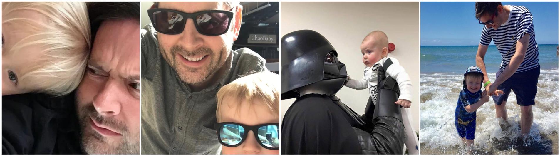 Man vs Baby slider image